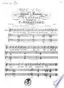 What Tho' I Trace, FROM THE Oratorio of Solomon. BY G. F. HANDEL. Arranged by T. GREATOREX. Ent. Sta. Hall