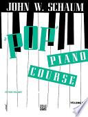 Pop  Piano Course  Book 1 Book