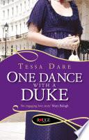 One Dance With A Duke A Rouge Regency Romance