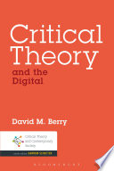Critical Theory And The Digital Book PDF