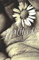 Gratitude Diary and Daily Planner 2013