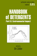Handbook of Detergents, Part B