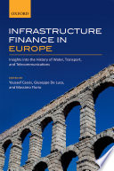 Infrastructure Finance In Europe Book PDF