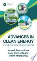 Advances in Clean Energy Book
