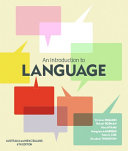An Introduction To Language With Student Resource Access 12 Months Book PDF