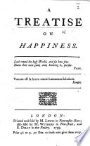 A Treatise on Happiness