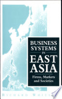 Business Systems In East Asia Book PDF