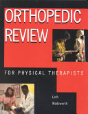 Orthopedic Review for Physical Therapists Book
