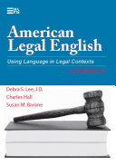 American Legal English, 2nd Edition