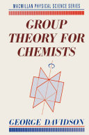 Group Theory for Chemists Pdf/ePub eBook