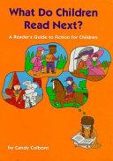 What Do Children Read Next?