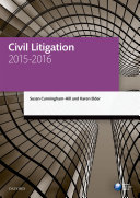Civil Litigation 2015 2016