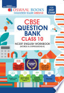 Oswaal Cbse Question Bank Ncert English Workbook Class 10 For 2021 Exam