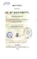 Oeuvres complètes de M.me Riccoboni ebook