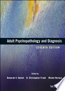 Adult Psychopathology And Diagnosis Book PDF