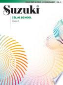 Suzuki Cello School   Volume 9 Book