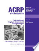 Exploring Airport Employee Commute And Parking Strategies Book PDF