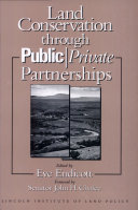 Land Conservation Through Public Private Partnerships