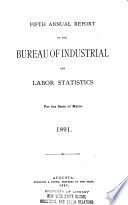 Annual Report of the Bureau of Industrial and Labor Statistics for the State of Maine Book PDF