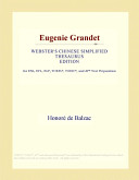 Pdf Eugenie Grandet (Webster's Chinese Simplified Thesaurus Edition)