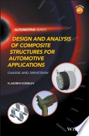 Design and Analysis of Composite Structures for Automotive Applications Book