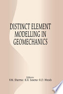 Distinct Element Modelling in Geomechanics