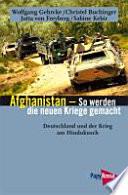 Afghanistan, so werden die