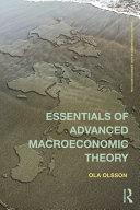 Essentials of Advanced Macroeconomic Theory [Pdf/ePub] eBook