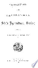 Appendix To The Journals Of The Senate And Assembly