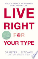 Live Right for Your Type Book PDF