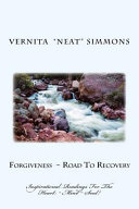 Forgiveness   Road to Recovery Book