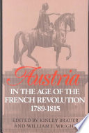 Austria In The Age Of The French Revolution 1789 1815