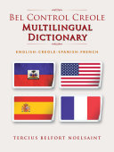 Pdf Bel Control Creole Multilingual Dictionary Telecharger