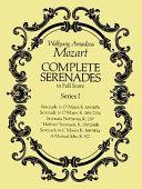 Complete Serenades in Full Score