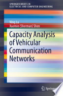 Capacity Analysis of Vehicular Communication Networks Book