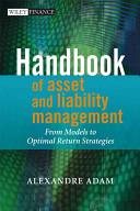 Handbook of Asset and Liability Management Book