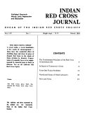 Indian Red Cross Journal