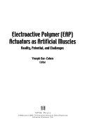 Electroactive Polymer  EAP  Actuators as Artificial Muscles