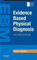Evidence based Physical Diagnosis