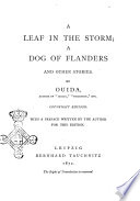 A Leaf in the Storm and Other Stories by Ouida