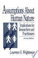 Assumptions about Human Nature Book