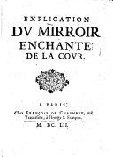 Explication du miroir enchanté de la cour