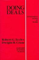 Doing Deals