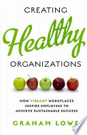 """Creating Healthy Organizations: How Vibrant Workplaces Inspire Employees to Achieve Sustainable Success"" by Graham S. Lowe"
