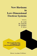 New Horizons in Low-Dimensional Electron Systems