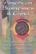 American Businesses in China Book