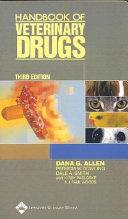 Handbook of Veterinary Drugs
