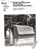 Design And Construction Of A Low Cost Stream Monitoring Shelter