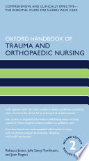 Oxford Handbook of Trauma and Orthopaedic Nursing