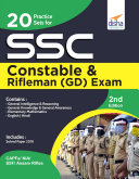 20 Practice Sets for SSC Constable & Rifleman (GD) Exam 2nd Edition Pdf/ePub eBook
